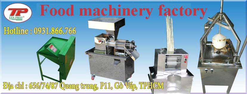 Food machinery factory