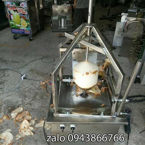 Fresh Coconut Peeler Short-table type
