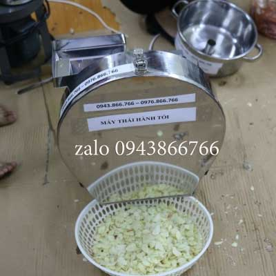 Sliced Ginger Garlic Slicing Machine